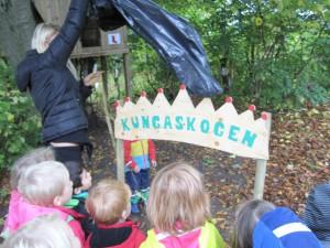 Invigning av vår egen Kungaskog.